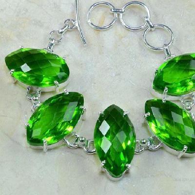 Per 150b bracelet peridot argent 925 achat vente bijoux