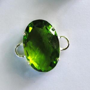 Per 159c pierre serie peridot a coudre pour costume gemme