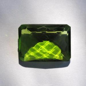 Per 162a pierre serie peridot a coudre pour costume gemme