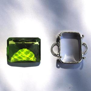 Per 162d pierre serie peridot a coudre pour costume gemme