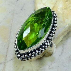 Per 168a bague t61 peridot bijou argent 925 achat vente