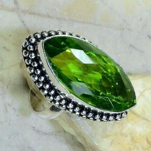 Per 168b bague t61 peridot bijou argent 925 achat vente
