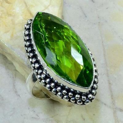 Per 168c bague t61 peridot bijou argent 925 achat vente
