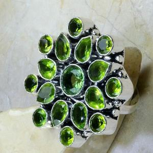 Per 169b bague t56 peridot bijou argent 925 achat vente