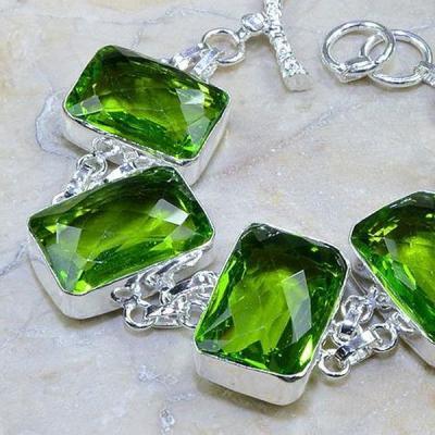 Per 170b bracelet peridot argent 925 achat vente bijoux
