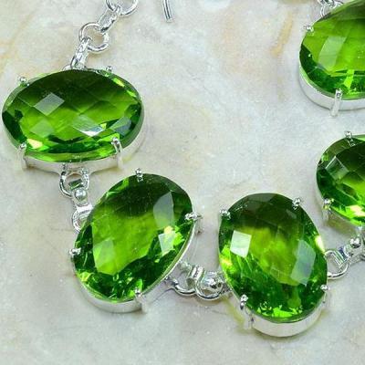 Per 172c bracelet peridot argent 925 achat vente bijoux