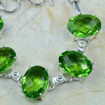 Per 173c bracelet peridot argent 925 achat vente bijoux
