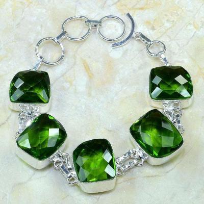 Per 175a bracelet peridot argent 925 achat vente bijoux