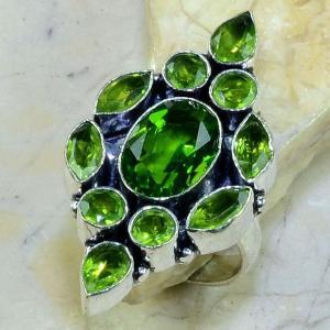 Per 182a bague t61 peridot bijou argent 925 achat vente