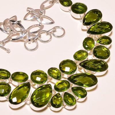 Per 193c collier parure sautoir peridot argent 925 achat vente bijou