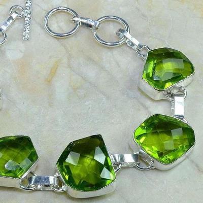 Per 206d bracelet peridot argent 925 achat vente bijoux