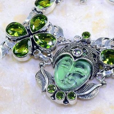 Per 236b bracelet bouddha jade peridot bijou esoterique argent 925 achat vente