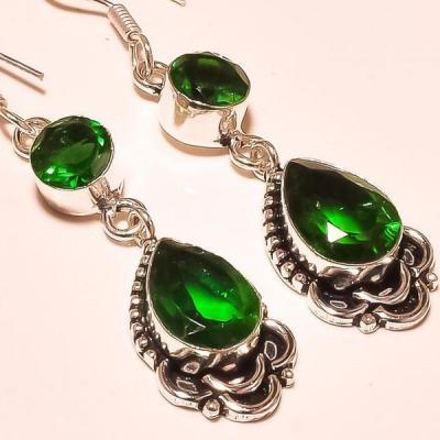 Per 366c boucles pendants oreilles peridot quartz argent 925 achat vente bijou
