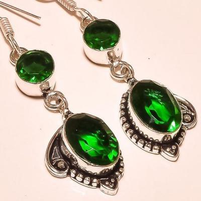 Per 368c boucles pendants oreilles peridot quartz argent 925 achat vente bijou