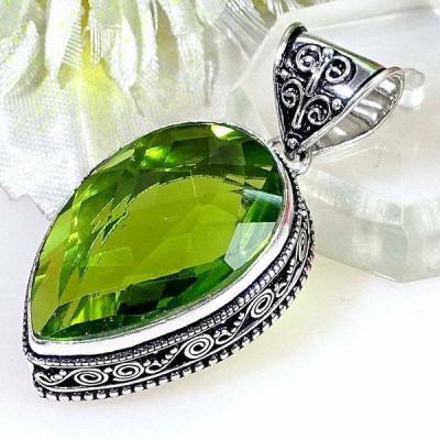 Per 385b pendentif pendants peridot quartz argent 925 achat vente bijou