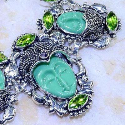 Per 390c bracelet peridot bouddha gothique argent 925 achat vente bijou