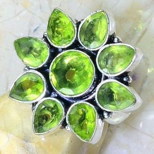 Per 533c bague t54 8x6mm peridot gothique achat vente bijou argent 925