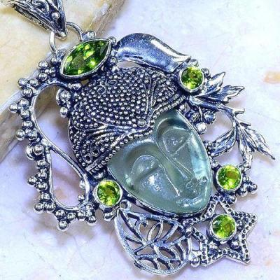 Per 536c pendentif pendant bouddha peridot gothique achat vente bijou argent 925