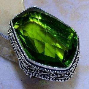 Per 543b bague t59 30x22mm peridot gothique achat vente bijou argent 925