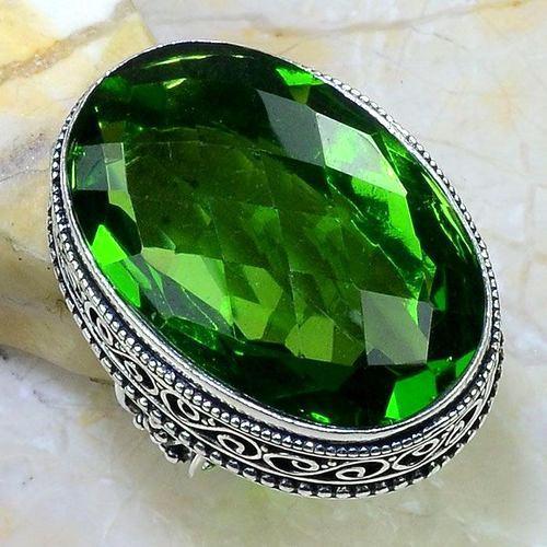 Per 548b bague t57 chevaliere 23x32mm peridot gothique achat vente bijou argent 925