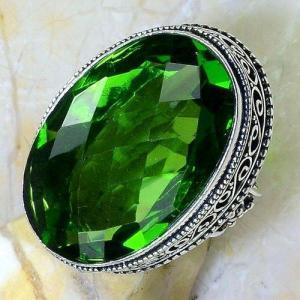 Per 548c bague t57 chevaliere 23x32mm peridot gothique achat vente bijou argent 925