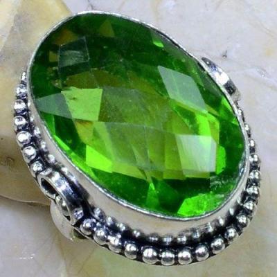 Per 555b bague t56 chevaliere 18x26mm peridot gothique achat vente bijou argent 925