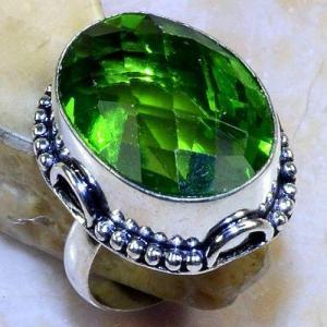 Per 561b bague t62 chevaliere 18x24mm peridot gothique achat vente bijou argent 925