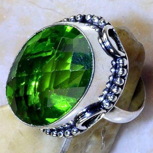 Per 561c bague t62 chevaliere 18x24mm peridot gothique achat vente bijou argent 925