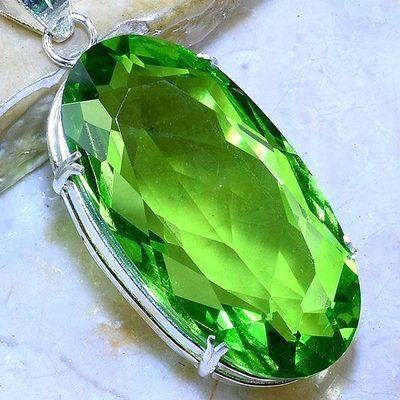 Per 605c pendentif pendants peridot 26x48mm achat vente bijou argent 925