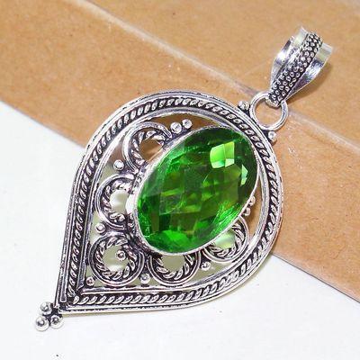 Per 614b pendentif pendants peridot 14x22mm 15gr achat vente bijou argent 925