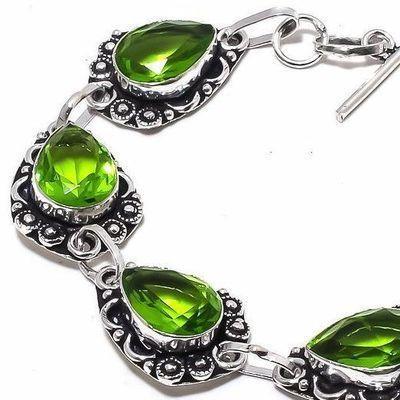 Per 644c bracelet peridot 19gr 10x15mm achat vente bijou ethnique argent 925