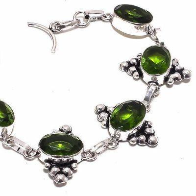 Per 648c bracelet peridot 16gr 10x15mm achat vente bijou ethnique argent 925