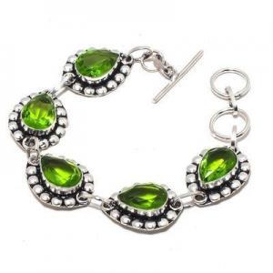 Per 649a bracelet peridot 18gr 10x15mm achat vente bijou ethnique argent 925
