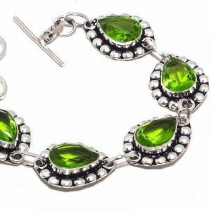 Per 649b bracelet peridot 18gr 10x15mm achat vente bijou ethnique argent 925