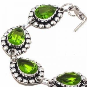 Per 649c bracelet peridot 18gr 10x15mm achat vente bijou ethnique argent 925