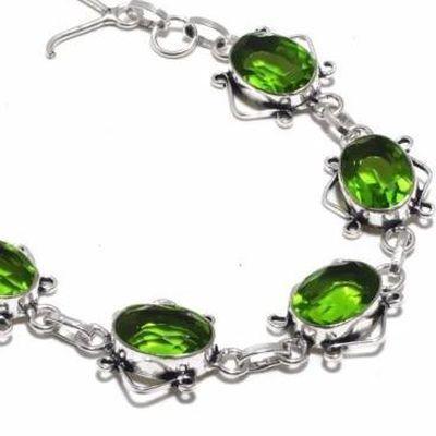 Per 668b bracelet peridot 17gr 10x15mm achat vente bijou ethnique argent 925