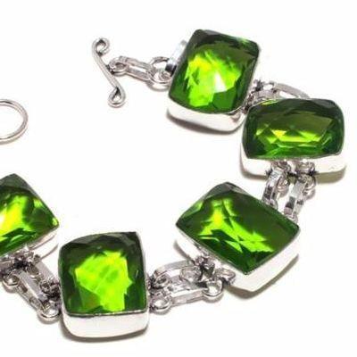 Per 671b bracelet peridot 38gr 20x15mm achat vente bijou ethnique argent 925