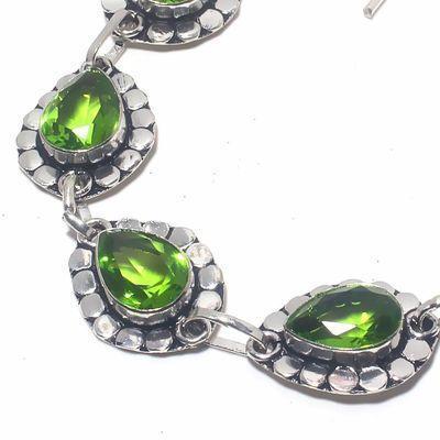 Per 673b bracelet peridot 19gr 10x15mm achat vente bijou ethnique argent 925