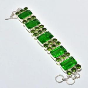 Per 678a bracelet peridot 55gr 20x14mm achat vente bijou ethnique argent 925