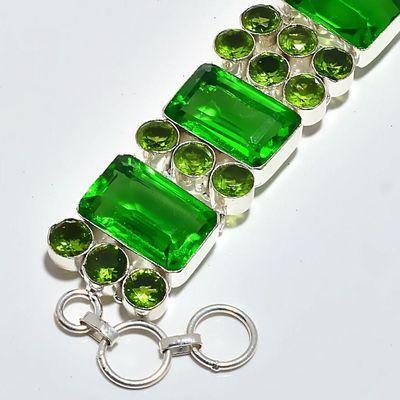 Per 678b bracelet peridot 55gr 20x14mm achat vente bijou ethnique argent 925