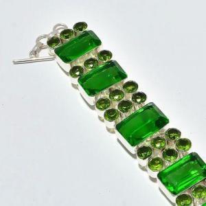 Per 678c bracelet peridot 55gr 20x14mm achat vente bijou ethnique argent 925