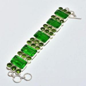 Per 678d bracelet peridot 55gr 20x14mm achat vente bijou ethnique argent 925