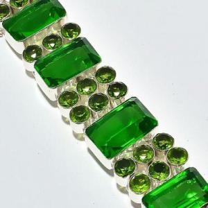 Per 678e bracelet peridot 55gr 20x14mm achat vente bijou ethnique argent 925