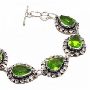 Per 684b bracelet peridot 21gr 10x15mm achat vente bijou ethnique argent 925