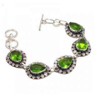 Per 684d bracelet peridot 21gr 10x15mm achat vente bijou ethnique argent 925
