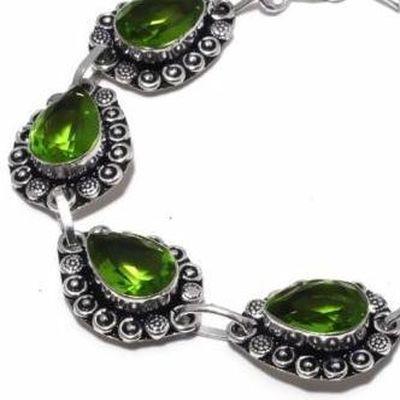 Per 689c bracelet peridot 21gr 10x15mm achat vente bijou ethnique argent 925