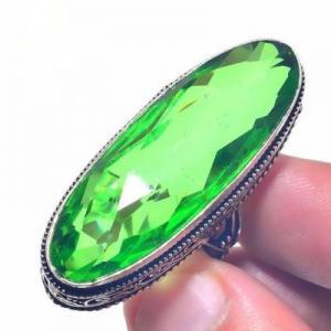 Per 694a bague chevaliere t57 peridot 18gr 14x40mm achat vente bijou ethnique argent 925