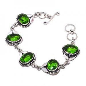 Per 705a bracelet peridot 18gr 10x15mm achat vente bijou ethnique argent 925
