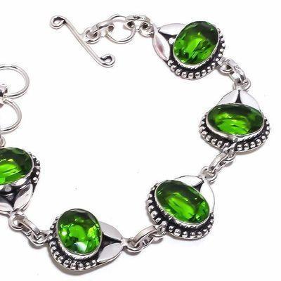Per 705b bracelet peridot 18gr 10x15mm achat vente bijou ethnique argent 925