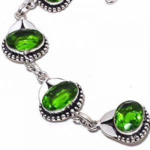 Per 705c bracelet peridot 18gr 10x15mm achat vente bijou ethnique argent 925